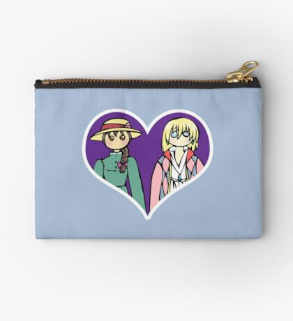 Sophie and Howl - shipping dolls Zipper Pouch