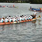 Dragon Boats -- Getting ready to race!!! by Heabar