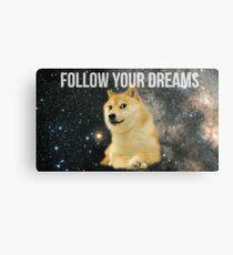 Doge Shibe Meme  Metal Print