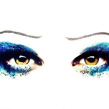 Darren Criss Hedwig's Eyes by xmisscriss