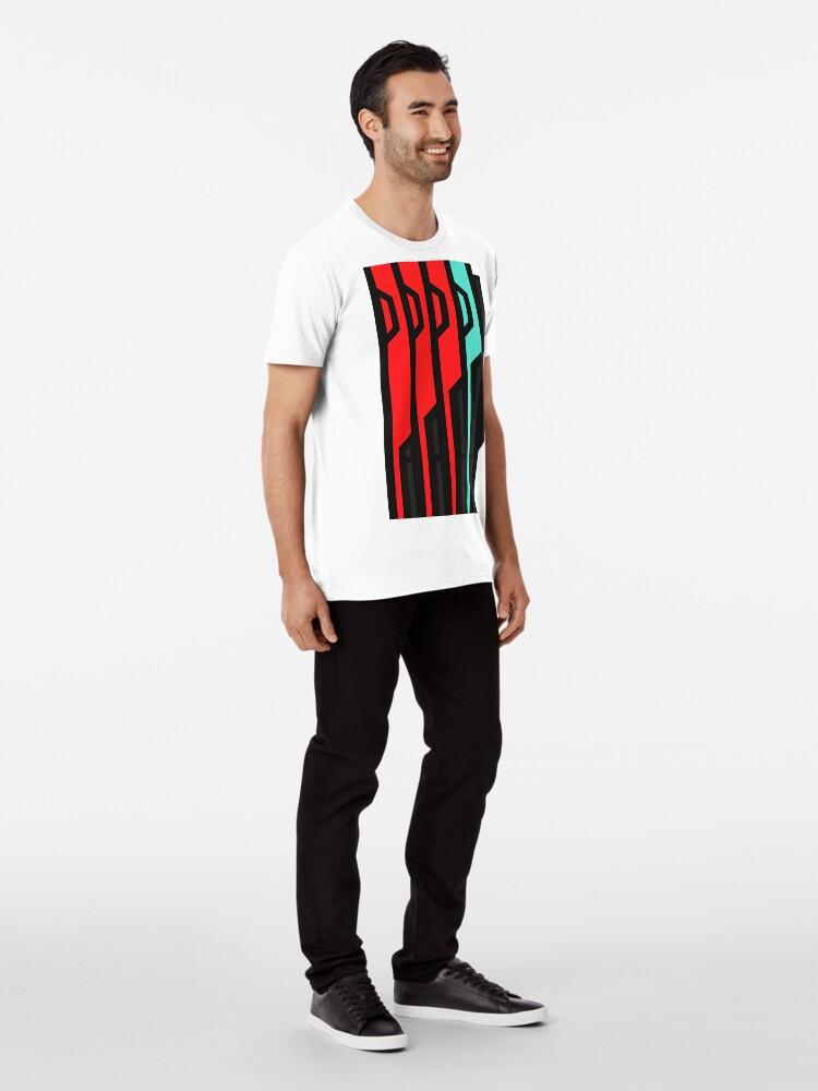 Alternative Ansicht von Allagischer Tomestone der Poetik Premium T-Shirt