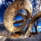 Helix Sculpture by Bob Larson