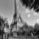 Gusty wind in paris by Denis Charbonnier