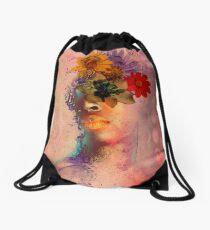 Distant Spring Dreams Drawstring Bag