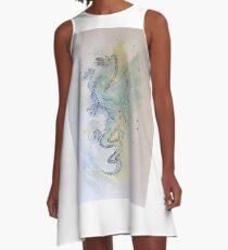 Paul's dragon A-Line Dress