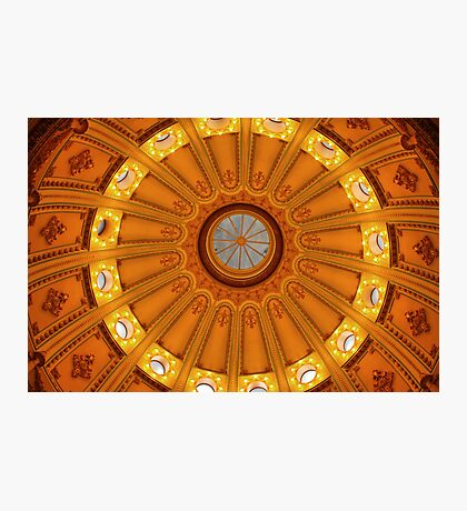 California Capitol Dome Photographic Print