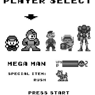 Classic game boy player select von silentrebel