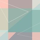 Geometric summer breeze by foxyprintdesign