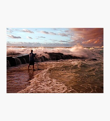 The Rock Photographer Photographic Print