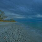 Delnor-Wiggins Pass State Park Beach at Sunset - HDR Image by doctorphoto