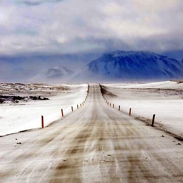 Icelandic Open Road by johandahlberg