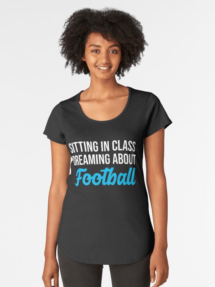 Camiseta premium para mujer «Fútbol americano» de maxb694  ffea5bc5138