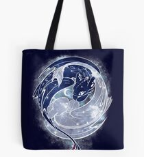 The Last Starry Dragons Tote Bag