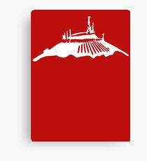 Space Mountain Icon Canvas Print