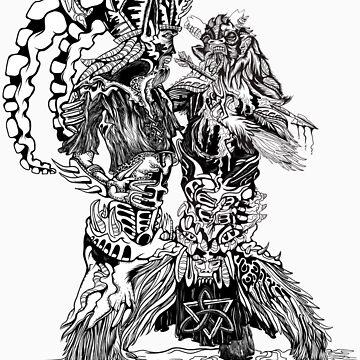 Death of a Satyr by quakerninja