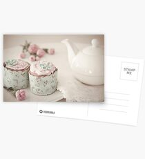 Afternoon Tea Postcards