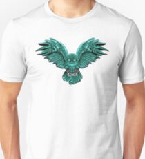 Zombie Attack Owl Unisex T-Shirt