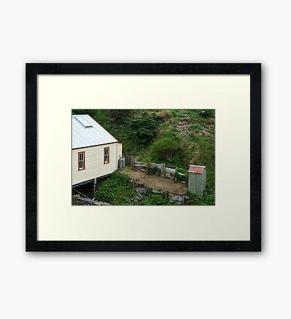 Outhouse,Walhalla Framed Print