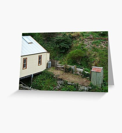 Outhouse,Walhalla Greeting Card