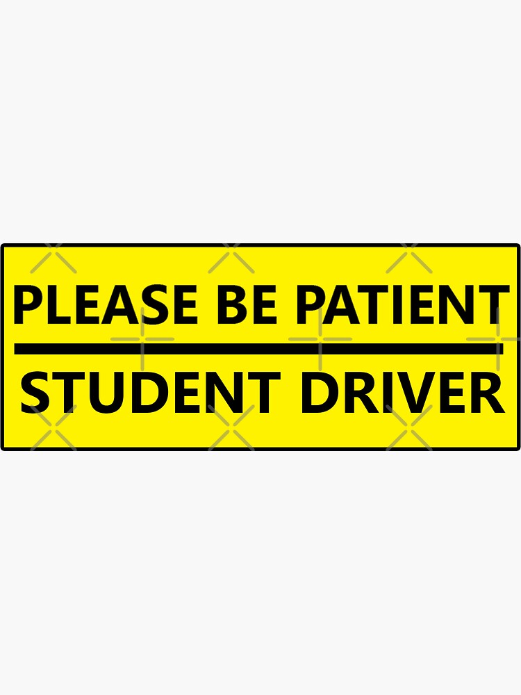 Por favor sea paciente broma conductor de estudiante de Statepallets