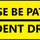 «Por favor sea paciente broma conductor de estudiante» de Statepallets