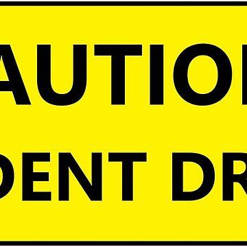 Precaución estudiante conductor broma de Statepallets