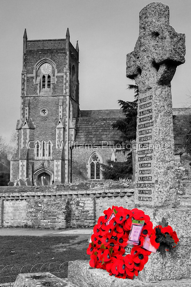 We Remember Them - Slinfold, Sussex by Colin  Williams Photography