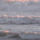 Angry Waves by Gloria Abbey