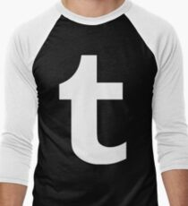 Tumblr Logo Men's Baseball ¾ T-Shirt