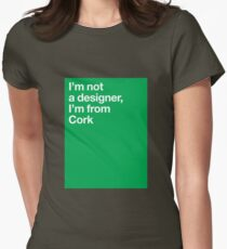 Cork Womens Fitted T-Shirt