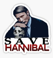 Save Hannibal Sticker