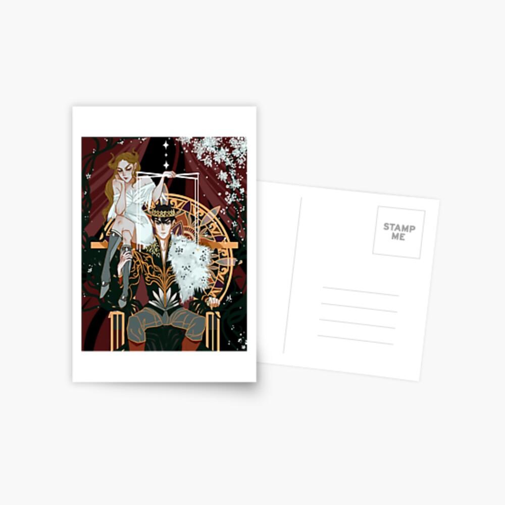 Royal Puppeteer Postcard
