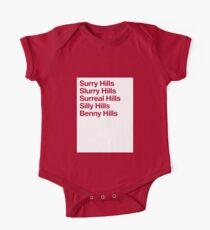 Surry Hills One Piece - Short Sleeve