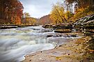 Autumn at Cataract Falls by Declan Lopez