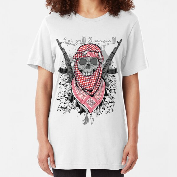 Arab skull Slim Fit T-Shirt