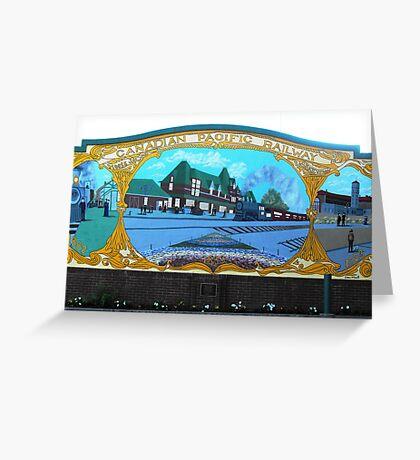 Moosejaw Mural Greeting Card