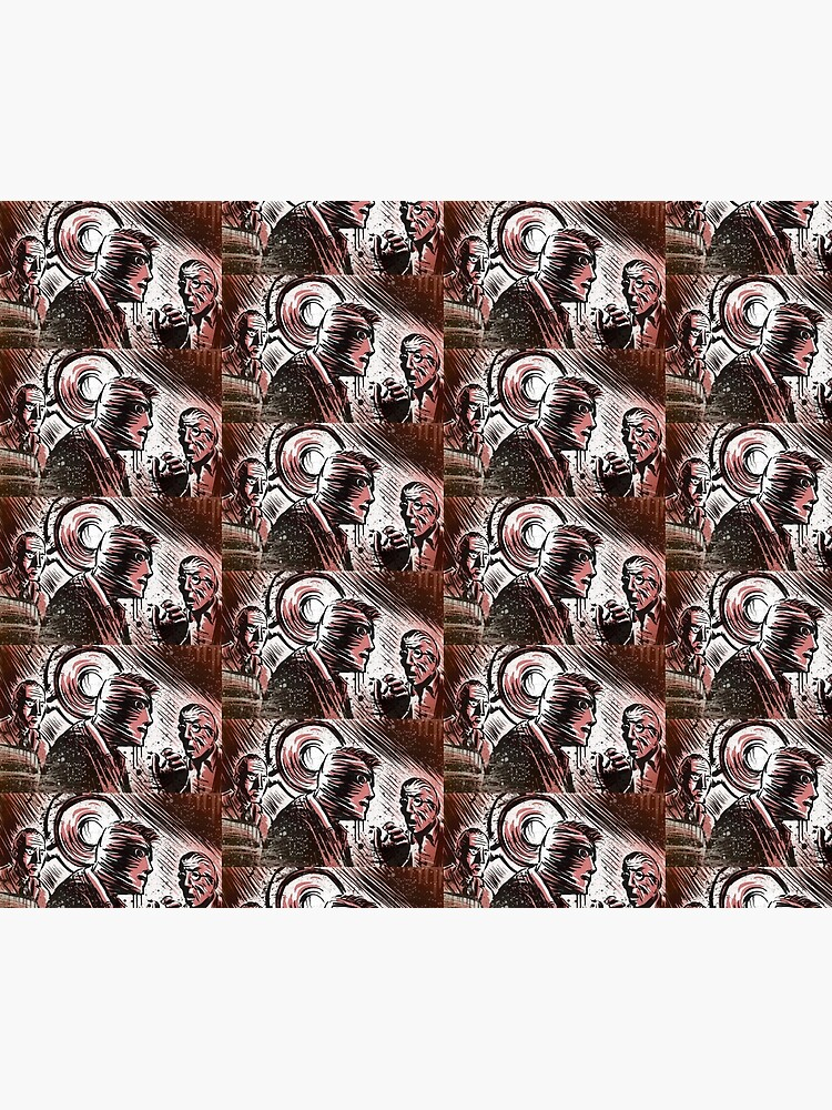 SECONDS, 1966, Art, Rock Hudson, John Frankenheimer, Sci-Fi, Thriller,  Suspense, Mystery, Movie Buff, Father's Day, Birthday Present   Duvet Cover