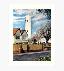The High Lighthouse, Burnham-on-Sea, Somerset Art Print