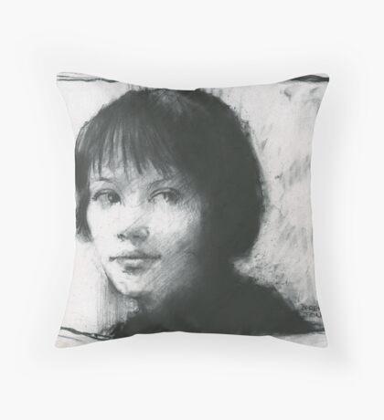 Anna Karina Throw Pillow