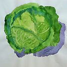 Cabbage 2 by Jennifer J Watson