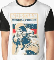 Russian Special Forces Russia military Bundeswehr Graphic T-Shirt
