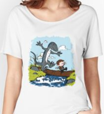 Jurassic World - Owen and Blue Women's Relaxed Fit T-Shirt