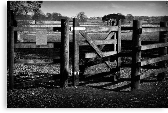 Country Gate by kcphotography
