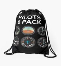 Pilots Six Pack. Drawstring Bag