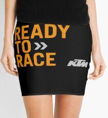 Bereit für KTM-Rennen Minirock