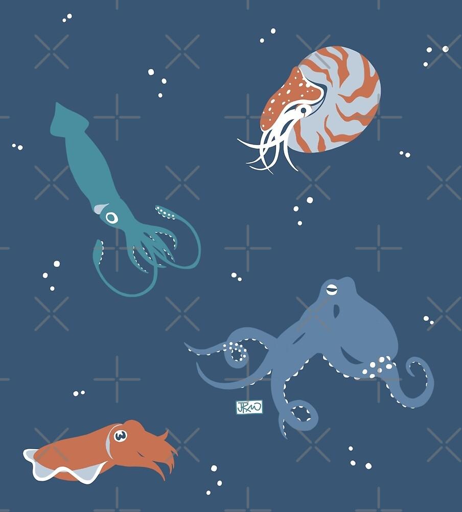 Cephalopods! by Jen Richards