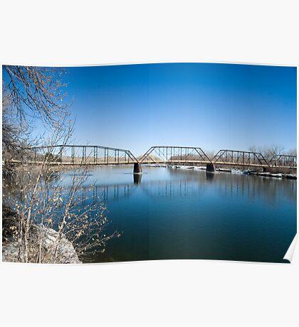 The Missouri River at Fort Benton Poster