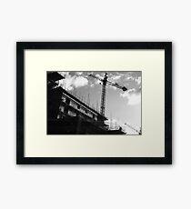 Crane & Sky Framed Print