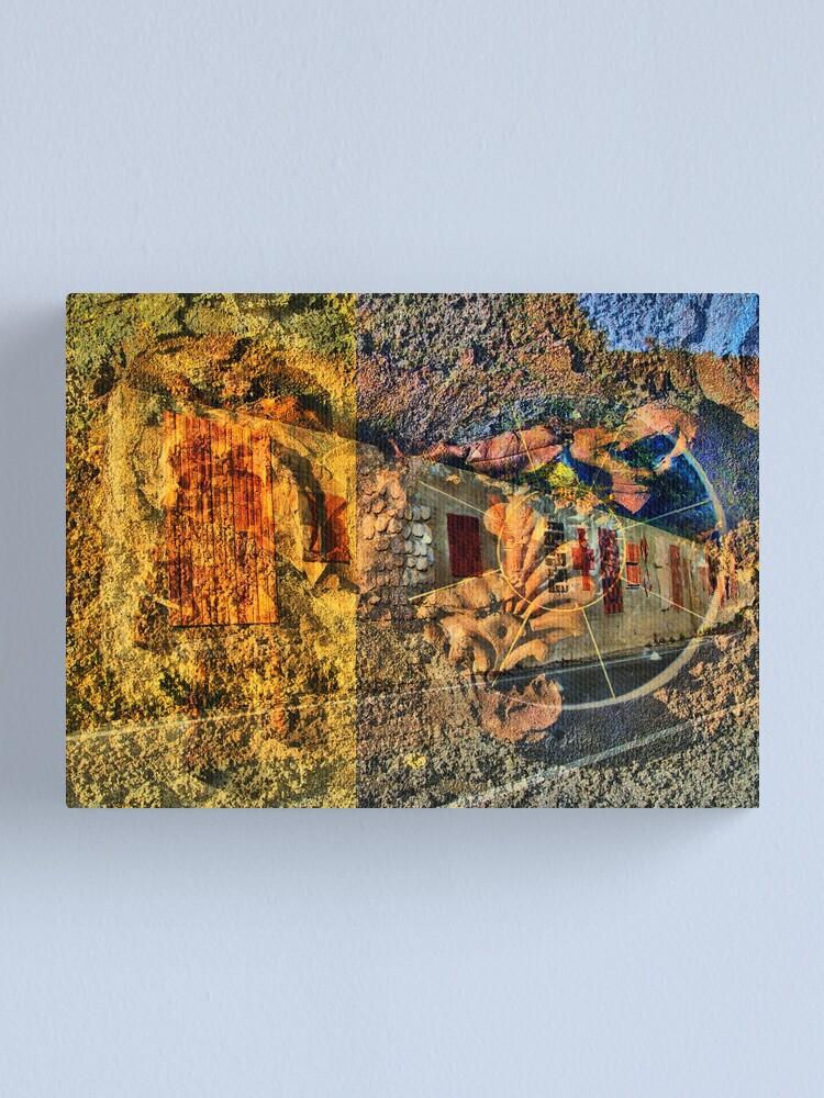 Alternate view of Il muro della vita Canvas Print