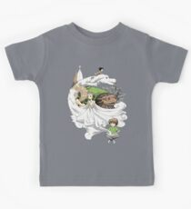 The Neverending Story - Montage  Kids Tee